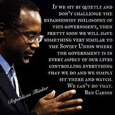 Please pray for Ben Carson and his family for God to strengthen him and let him find a peace so that he can run for president in 16.