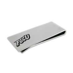 Florida Gulf Coast Eagles Stainless Steel Money Clip