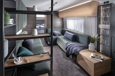 New Astella Large Kitchen Design, Luxury Caravans, Layout, Outside Living, Luxury Accommodation, Indoor Outdoor Living, Cool Apartments, Luxury Holidays, Contemporary Interior Design