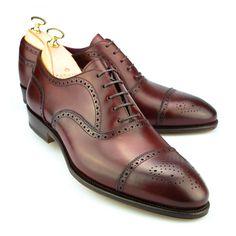 Carmina Semi-brogue Oxfords Inca - Vegano brogue $500 Sock Shoes, Men's Shoes, Shoe Boots, Dress Shoes, Shoes Style, Shoes Men, Best Shoes For Men, Formal Shoes For Men, Gentleman Shoes
