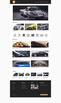 Cars Magazine - WordPress Theme