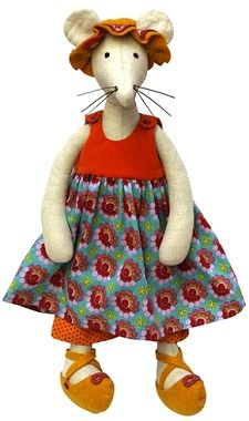 Hortense the Mouse PATTERN for Summer Outfit -  HM007