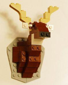 Shake My Blog | Caribou en lego