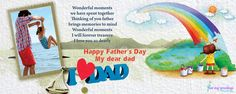 This #FathersDay gift your Dad a customized #Mug with your pictures on it. Make every sip of his coffee filled with the memories of the beautiful days you spent with him. Make it happen this year only with #Postmygreetings.com Beautiful Days, Dear Dad, Love You, My Love, You Are The Father, Happy Fathers Day, Photo Mugs, Thinking Of You, Dads