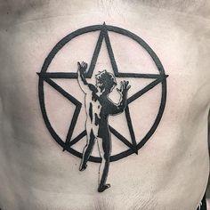 Star Tattoos, Black Tattoos, Quetzal Tattoo, Deathly Hallows Tattoo, Album Covers, Tattoo Ideas, Stars, Instagram, Sterne