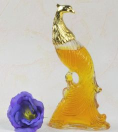 Bird of Paradise cologne bottle. Love these bottles and I collect them when the husband lets me.