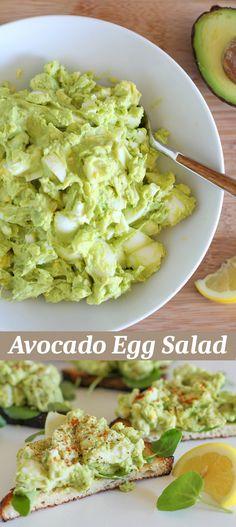 Quick Recipes & Kitchen Tips: Avocado Egg Salad