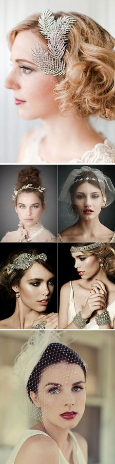 Accesorios para novias vintage