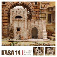 KASAS BELEN Nativity House, Christmas Crafts, Sweet Home, Portal, Bethlehem, Villas, Scene, Home Decor, Christmas Manger