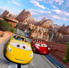 Cars Land at Disney CaliforniaAdventure