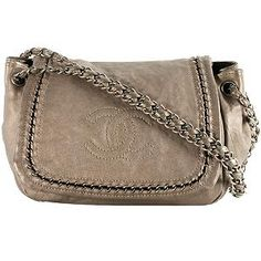 Chanel Luxe Metallic Flap Shoulder Handbag