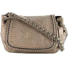 Chanel Luxe Metallic Flap Shoulder Handbag