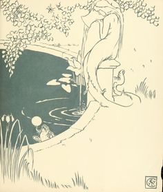 'The frog prince' illustrated by Walter Crane.