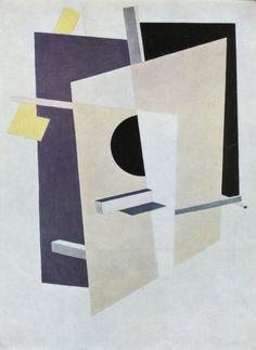 El Lissitzky, PROUN interpentrating planes (1921)
