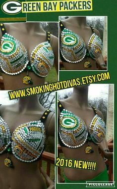 Check out this item in my Etsy shop https://www.etsy.com/listing/269485019/greenbay-packers-nfl-team-bra-custom