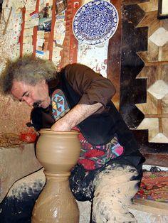 Pottery Making in Avanos - Cappadocia, Turkey
