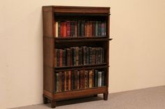 Barrister Bookcase - Antique Bookshelves With Elegant Designs