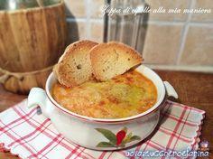 Zuppa di cipolle alla mia maniera