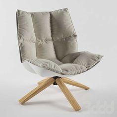 Кресло b&b Italia Hucs