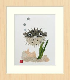 Featured on ApartmentTherapy.com Giclee of Cute by BlessHue, $52.50