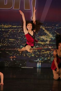 In performance in NYC at New York City Dance Alliance Nationals, Denise Wall's Dance Energy junior company (age 12)