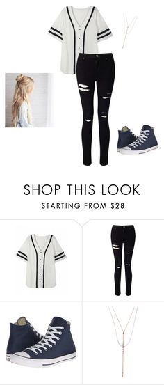 """""""Untitled 99"""" by jjrandom29 ❤ liked on Polyvore featuring Miss Selfridge, Converse and Lana"""