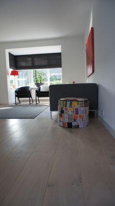 MoreFloors - vloer woonkamer Eiken licht gerookt + wit geolied