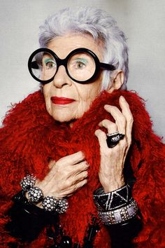 Style & Design Icon: Iris Apfel...