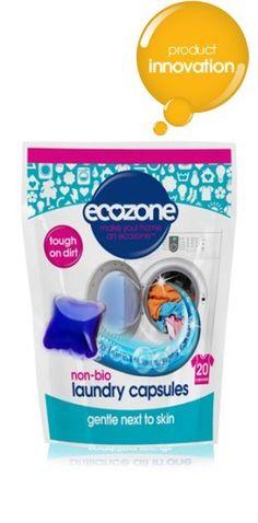 ECOZONE kapsułki do prania UNIWERSALNE 20szt