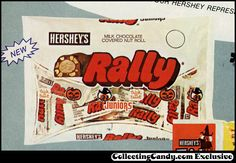 Hershey Halloween candy ads | Rally – Halloween Juniors package image from trade advertisement ...