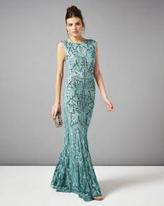 Phase Eight Collection 8 sky paige tapework full length dress Long Summer Dresses, Lace Evening Dresses, Lace Dress, Prom Dresses, Formal Dresses, Wedding Dresses, Long Dresses, Pretty Dresses, Mother Of Groom Dresses