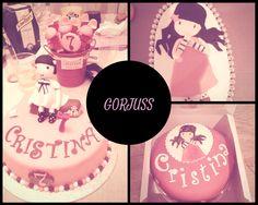 MATINA CAKES: PASTELES GORJUSS #gorjuss, #pastel, #fondant, #girls