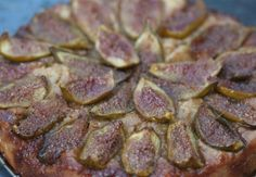 Carmelized Fig Torte