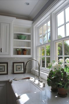 "Interior Paint Color Ideas / ""Benjamin Moore Cotton Balls"""