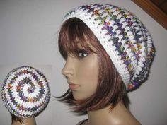 Mützen - Mütze, Beanie im Spiral-Design, Boshi Style - ein Designerstück von IDS-Style bei DaWanda