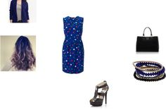 """""""Blue"""" by mindiblue2 ❤ liked on Polyvore"""