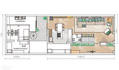 Reforma ampliou os ambientes desta casa em terreno estreito - Casa