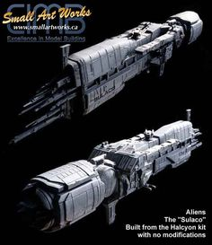 Aliens: USS Sulaco Model