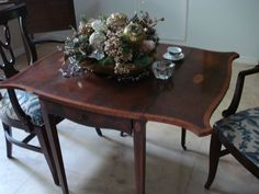Small Tables, End Tables, Drop Leaf Table, Antique Furniture, Really Cool Stuff, Drawers, Dining Table, Antiques, House