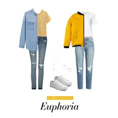 kpop fashion kpopoutfits Outfits inspired by Euphoria by BTS Requested by anon! All items in this set can be found on my Shoplook account here MASTERLIST Korean Fashion Kpop Inspired Outfits, Bts Inspired Outfits, Kpop Fashion Outfits, Korean Fashion Trends, Korean Street Fashion, Trendy Outfits, Fashion Ideas, Korean Outfits Kpop, Korean Fashion Kpop Bts