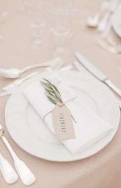 New Ideas Wedding Table Settings Without Plates Olive Branches wedding place settings New Ideas Wedding Table Settings Without Plates Olive Branches Wedding Table Name Cards, Wedding Plates, Wedding Place Settings, Wedding Napkins, Table Wedding, Table Setting Wedding, Wedding Place Names, Table Place Settings, Wedding Dinner