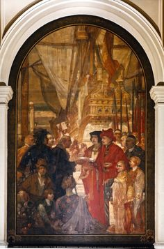 30. Philip the Good presenting the Charter to Merchant Adventurers Great Fire Of London, The Great Fire, Tower Of London, London City, Frederick Leighton, Edward Iv, Alfred The Great, King John, William The Conqueror