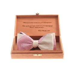 Meet our #63 - The Inspector's Edition bow tie by Gentleman's Agreement