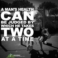 A man's health can be judged by which he takes two at a time | bodyweighttrainingarena.com #health #exercises #motivation