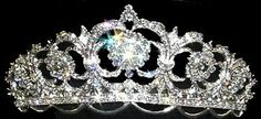 Rose Tiara for Irish Dancer | ... rose white signature tiara ideal for irish dance performances and feis