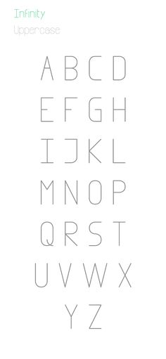 3.Free Font Of The Day  Infinity