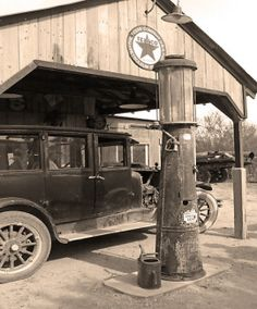 Wilson's gas station is a very important setting because it is the hub of a lot of the drama in The Great Gatsby. Myrtle, Wilson's wife and Tom's mistress lives there. Myrtle also faces here death at this lonely little gas station in The Valley of Ashes.
