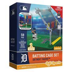 MLB Detroit Tigers Oyo Batting Cage Set - 59pcs