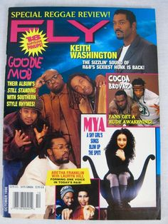 Fly Hip Hop Music Magazine October 1998 Aretha Franklin Cocoa Brovaz Mya C-Bo Yo