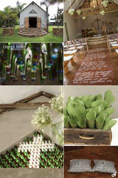 Chapel decor at the lovely Jean-Mare's wedding. Decor and flowers by Love, Imperfect Perfection Weddin Venue Wedding Decorations, Table Decorations, Wedding Ideas, South African Weddings, Portrait Photographers, Im Not Perfect, Projects To Try, Garden, Flowers